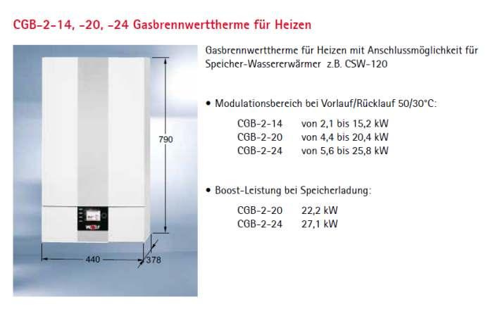 wolf gasbrennwert heiztherme cgb 2 14 comfortline mit hocheff heizkreispumpe. Black Bedroom Furniture Sets. Home Design Ideas